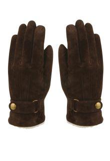 Hatland---Handschuhe-für-Herren---Vjall---Braun