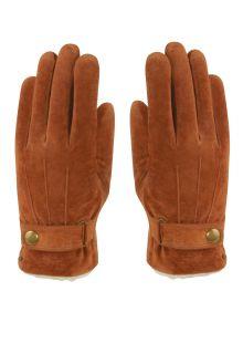 Hatland---Handschuhe-für-Herren---Vjall---Cognac-Braun