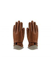 Hatland---Handschuhe-für-Herren---Tygo---Cognac-Braun