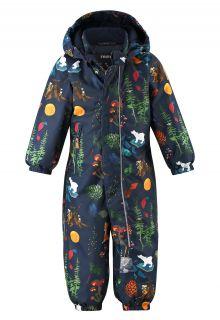 Reima---Schneeanzug-für-Babys---Reimatec---Puhuri---Marineblau-Wald