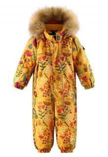 Reima---Schneeanzug-für-Babys---Reimatec---Lappi---Gelb