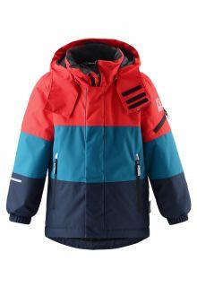 Reima---Skijacke-für-Jungen---Berge---Marineblau