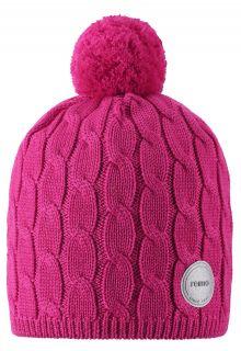 Reima---Mütze-für-Mädchen---Nyksund---Himbeerrosa