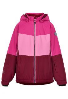 Color-Kids---Skijacke-für-Mädchen---Colorblock---Fuchsia-Pink
