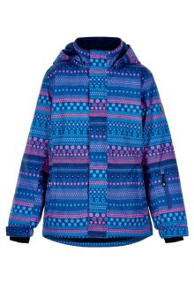 Color-Kids---Skijacke-für-Mädchen---AOP---Galaxyblau/Multi
