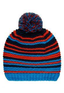Color-Kids---Mütze-mit-Fleece-für-Jungen---Streifen---Hellblau