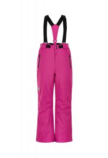 Color-Kids---Skihose-mit-enger-Passform-für-Mädchen---Uni---Rosa-Violett