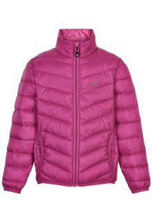 Color-Kids---Packbare-Jacke-für-Mädchen---Gesteppt---Rosa-Violett