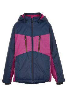 Color-Kids---Skijacke-für-Mädchen---Melange---Rosa-Violett