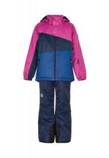 Color-Kids---Skianzug-für-Mädchen---Colorblock---Rosa-Violett