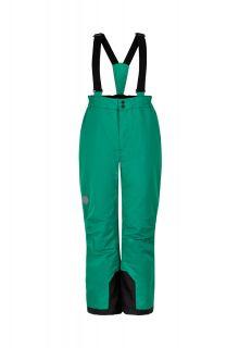 Color-Kids---Skihose-mit-fixierten-Hosenträgern-für-Kinder---Uni---Grün