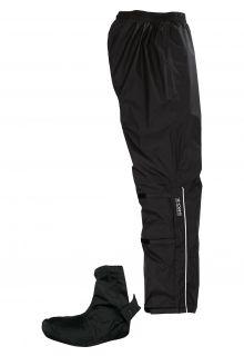 Pro-X-Elements---Bike-Regenhose-mit-integriertem-Schuhschutz-für-Erwachsene---Lyon---Schwarz