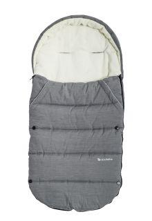 Altabebe---Fußsack-für-Kinder---Alpin---Grau/weiß
