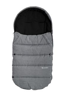 Altabebe---Fußsack-für-Kinder---Alpin---Grau/schwarz