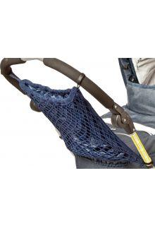 Altabebe---Netz-Einkaufstasche-mit-Futter-für-Kinderwagen---Marineblau