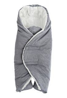 Altabebe---Fußsack-für-Kindersitz-und-Babyschale---Grau/Weiß