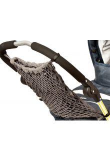 Altabebe---Netz-Einkaufstasche-mit-Innenfutter-für-Kinderwagen---Grau