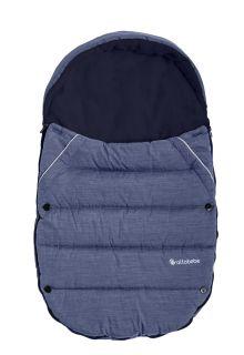 Altabebe---Fußsack-für-Kindersitz-und-Babyschale---Alpin---Blau/Marine