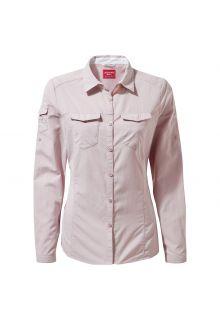 Craghoppers---UV-Bluse-für-Damen---Langarmshirt---Adventure-II---Helllila