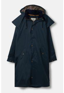 Lighthouse---Regenmantel-für-Männer---Stockmans-Mantel---Marineblau