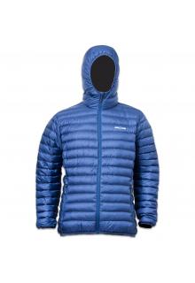 Lowland-Outdoor---Winterjacke-mit-Entendaunenfüllung-für-Herren---Optimum---Hoody---Kobalt