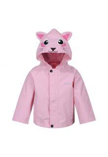 Regatta---Regenjacke-für-Kleinkinder---Tiere---Katze---Pink
