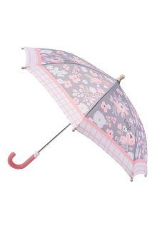 Stephen-Joseph---Regenschirm-für-Kinder---Charcoal-Floral