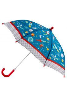 Stephen-Joseph---Regenschirm-für-Jungen---Weltraum---Blau