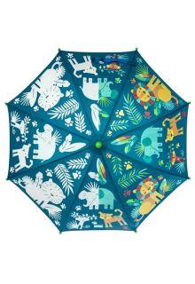 Stephen-Joseph---Farbwechselnder-Regenschirm-für-Kinder---Zoo