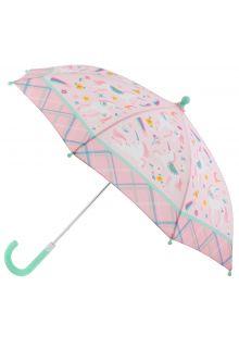 Stephen-Joseph---Regenschirm-für-Mädchen---Einhorn---Rosa