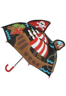 Stephen-Joseph---Pop-up-Regenschirm-für-Jungen---Pirat---Schwarz