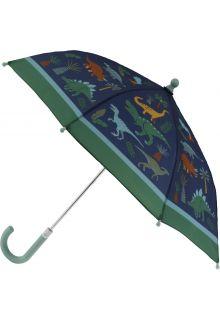 Stephen-Joseph---Regenschirm-für-Jungen---Dino---Dunkelblau/Grün