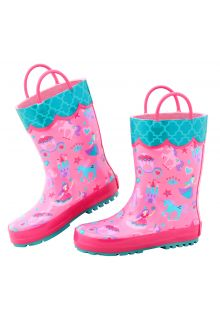 Stephen-Joseph---Regenstiefel-für-Mädchen---Prinzessin---Rosa