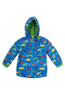 Stephen-Joseph---Regenjacke-für-Jungen---Fahrzeuge---Blau
