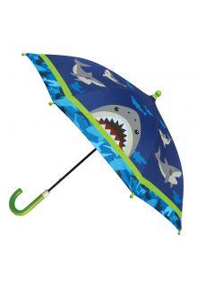 Stephen-Joseph---Regenschirm-für-Jungen---Hai---Dunkelblau