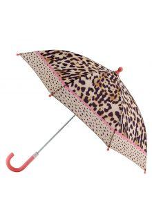 Stephen-Joseph---Regenschirm-für-Mädchen---Leopard---Multi