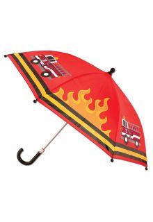 Stephen-Joseph---Regenschirm-für-Jungen---Feuerwehr---Rot