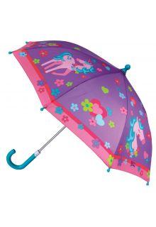 Stephen-Joseph---Regenschirm-für-Mädchen---Einhorn---Lila/Rosa