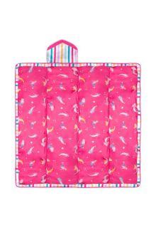 Stephen-Joseph---Abwischbare-Stranddecke-für-Kinder---Pink