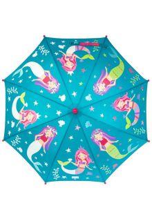 Stephen-Joseph---Farbwechselnder-Regenschirm-für-Kinder---Mermaid