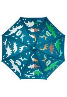 Stephen-Joseph---Farbwechselnder-Regenschirm-für-Kinder---Dino