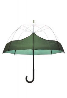 Hunter---Regenschirm-für-Erwachsene---Original-Moustache-Bubble---Olivgrün