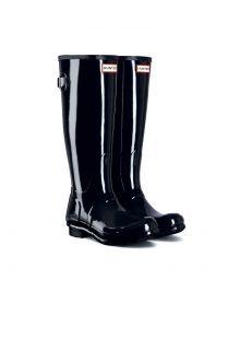Hunter---Verstellbare-Regenstiefel-für-Damen---Originall-Tall---Hochglanz-Schwarz