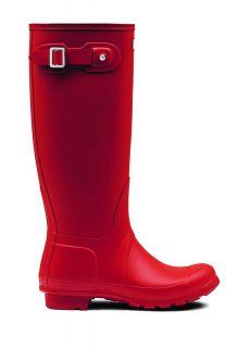 Hunter---Regenstiefel-für-Damen---Original---Hoch---Rot