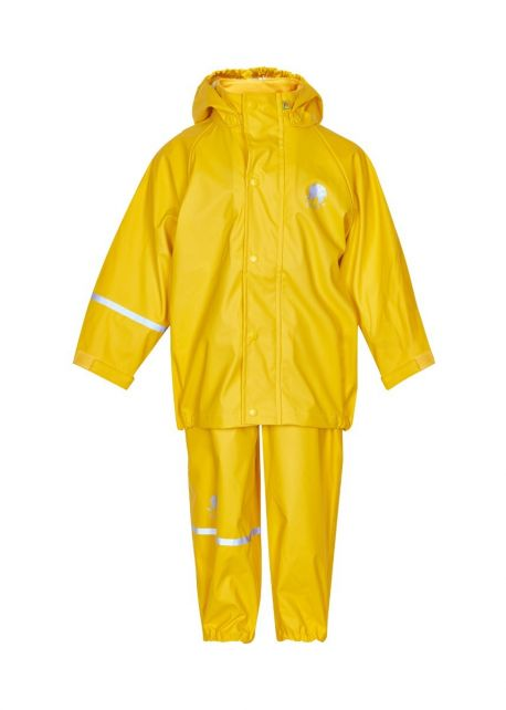 CeLaVi---Regenanzug-für-Kinder---Gelb