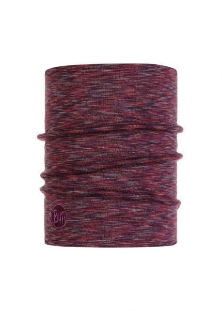 Buff---Warmer-Merino-Schlauchschal-Stripes-für-Erwachsene---Mehrfarbig