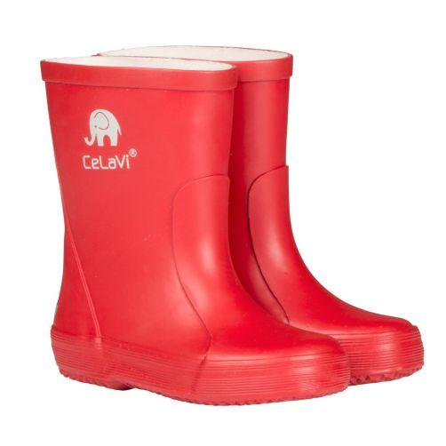 CeLaVi---Gummistiefel-für-Kinder---Rot
