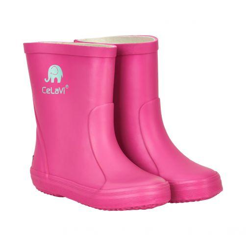 CeLaVi---Gummistiefel-für-Kinder---Pink