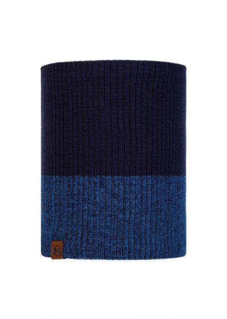 Buff---Strick-Rundschal-Polar-Dima-für-Erwachsene---Nachtblau