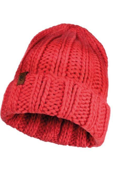 Buff---Strickmütze-Vanya-für-Erwachsene---Rot